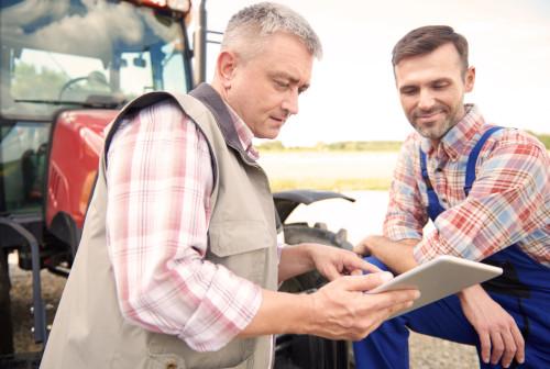 Landwirte beraten sich